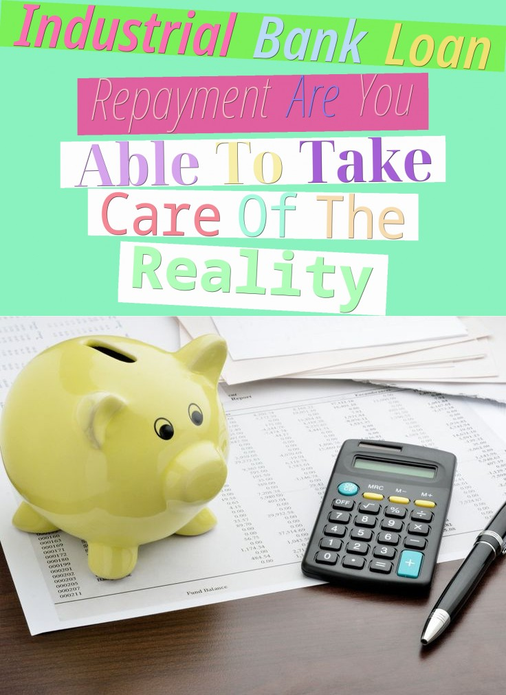 Industrial Bank Loan Repayment - Are You Able To Take Care Of The Reality?