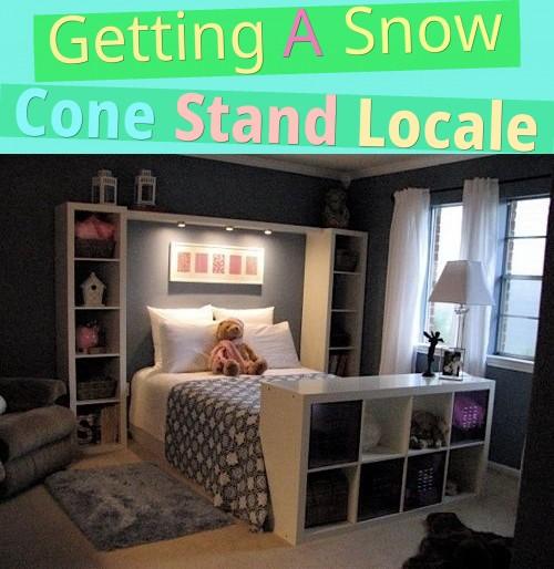 Getting A Snow Cone Stand Locale